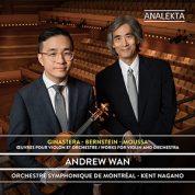 Ginastera – Bernstein – Moussa : Œuvres pour violon et orchestre