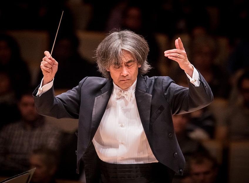 Cordes, vents et piano : l'art du contraste selon Kent Nagano