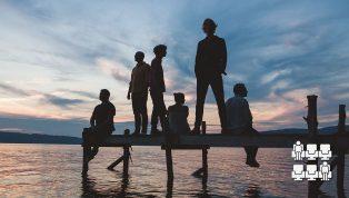 Bell orchestre - Lac soleil couchant