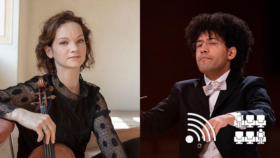 Hilary Hahn et l'OSM dans le Concerto de Dvořák