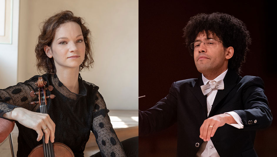 Hilary Hahn and the OSM in Dvořák's Concerto