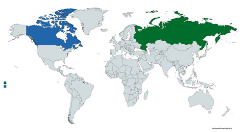 World-Map-Canada-Russia