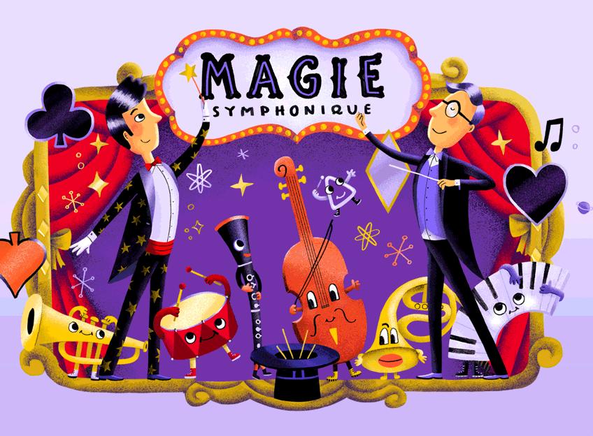 ÉVÉNEMENT-BÉNÉFICE : Magie symphonique